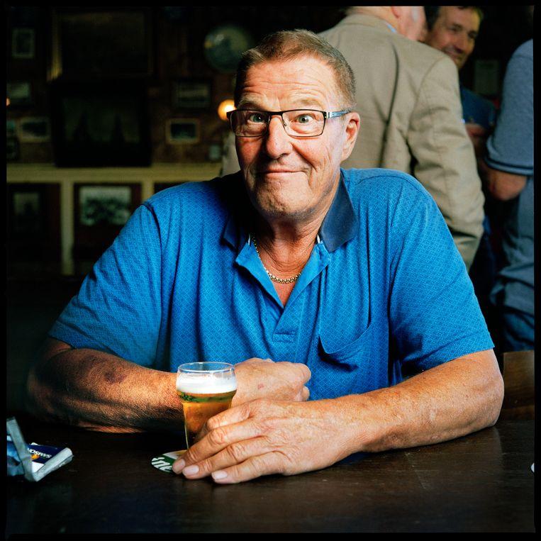 Dirk Broers (67), Den Oever.  Beeld Jan Dirk van der Burg