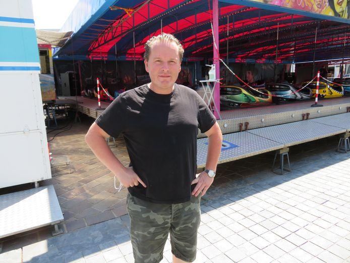 Nederlander Angelino De Poorter hoopt om nu onafgebroken te kunnen reizen van dorp naar dorp.