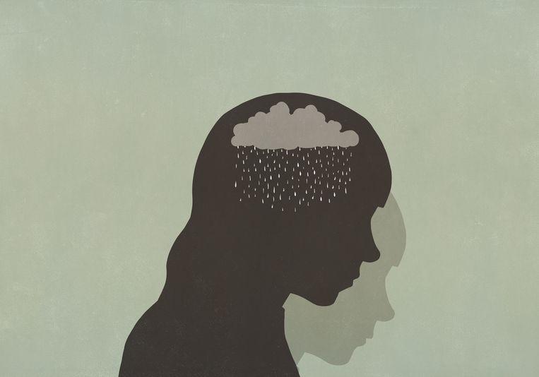 'Mensen met psychische problemen zijn vaker werkloos.' Beeld Getty Images/fStop