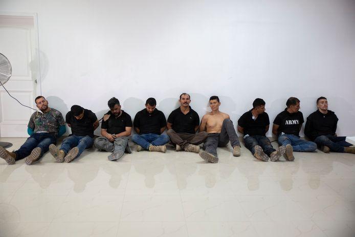 Minstens zes verdachten zijn gewezen Colombiaanse militairen.