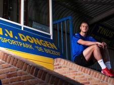 Talboom rook aan profvoetbal en knokt nu voor zijn plaats bij VV Dongen: 'Toen ze belden, was het zo rond'