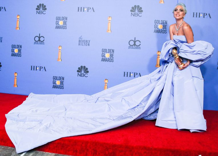 Lady Gaga kaapte al een Golden Globe weg. Beeld BELGAIMAGE