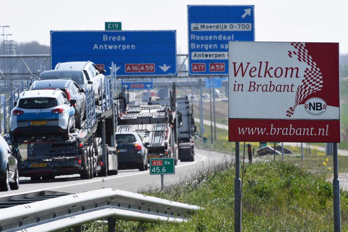 Transport zorgt voor luchtvervuiling in Brabant.