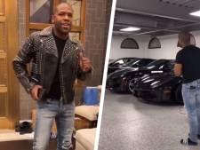 Mayweather offre une visite de son impressionnante collection de voitures et de son immense villa