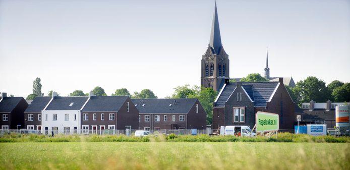 Woonwijk de Repelakker in Zeeland ligt tegen de bestaande dorpskom aan.