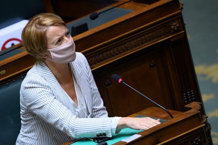 La députée fédérale Catherine Fonck (cdH)