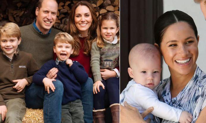 De koninklijke kinderen zullen elkaar niet uit het oog verliezen.