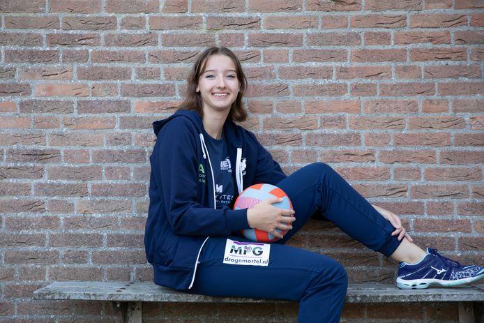 Megan Korpershoek (17) uit Sirjansland.