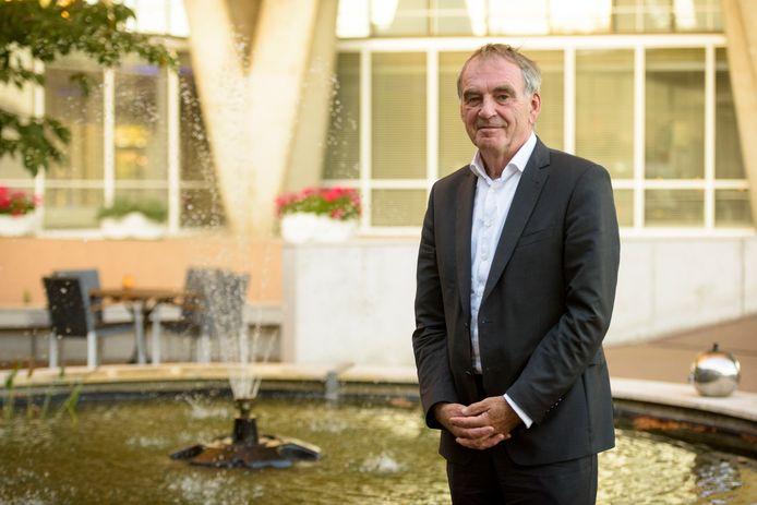 Pieter van Geel, verkenner in de discussie over de toekomst van Eindhoven Airport.