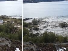 Aardverschuiving sleurt huizen de zee in: 'Heb gerend voor mijn leven'