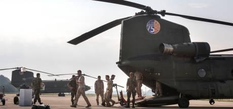 Chinooks Gilze-Rijen op pad voor blushulp in Albanië