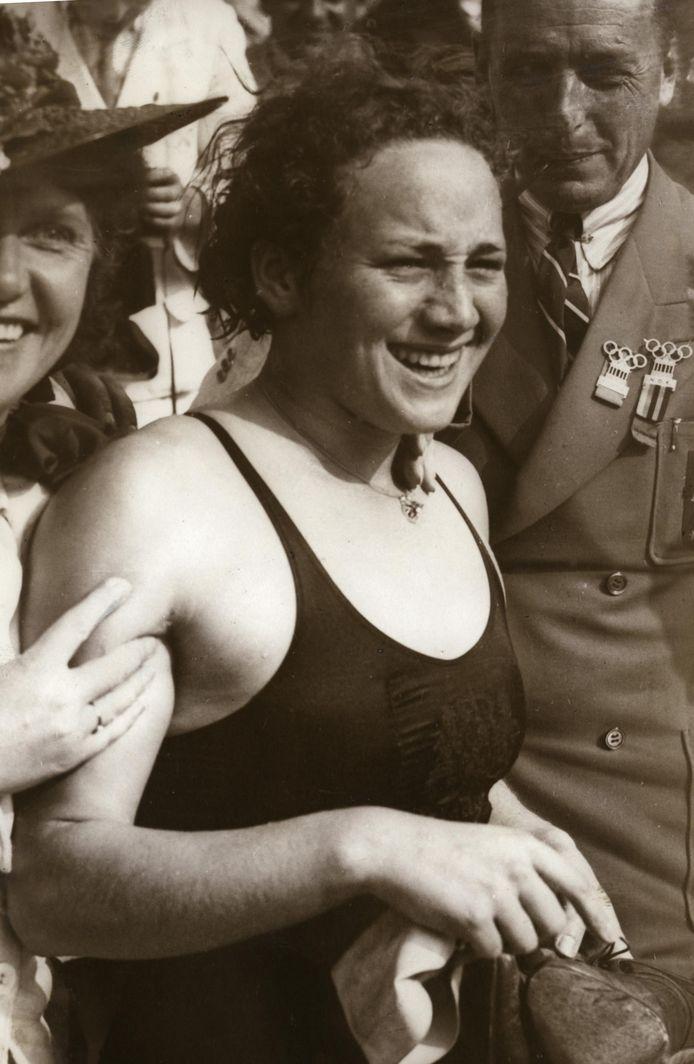 Rie Mastenbroek in 1936.