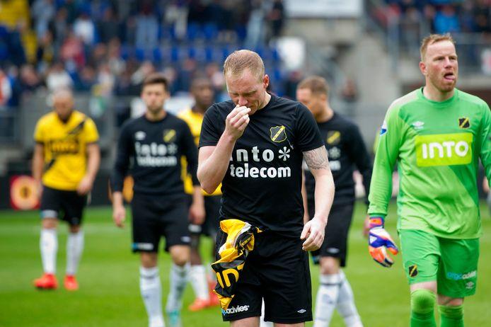 NAC, de eerste tegenstander van Emmen in de play-offs, degradeerde in 2015 na een 1-2 thuisnederlaag tegen Roda JC.