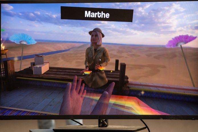 Een beeld uit het spel