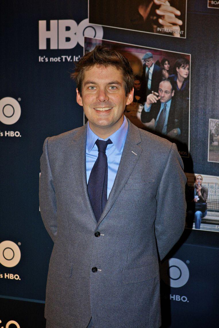 Presentator Ruben Nicolai. Beeld null