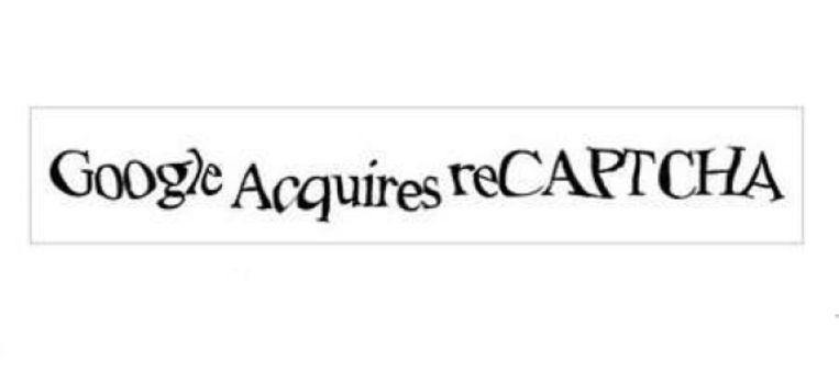 Google kocht in 2009 het onderzoeksproject reCAPTCHA. Beeld RV