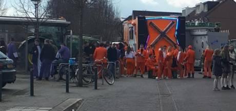 Carnavalsoptocht Groesbeek-Breedeweg verstoord door 'aso-gedrag' jongeren uit andere dorpen