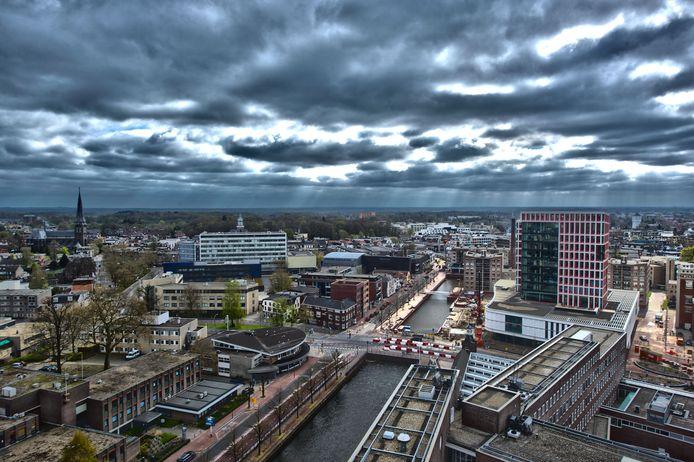 De skyline van Almelo