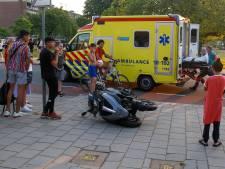 Scooterrijder gewond na aanrijding met auto op Thorbeckeweg in Dordrecht