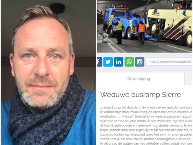 """Vader verongelukte dochter bij busramp Sierre reageert op crowdfunding Evy Laermans: """"Ronduit schaamteloos"""""""