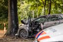 Ongeval aan de Sweelincklaan in Tilburg.