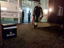 Brandweer Tubbergen rukt uit voor rokende koelbox