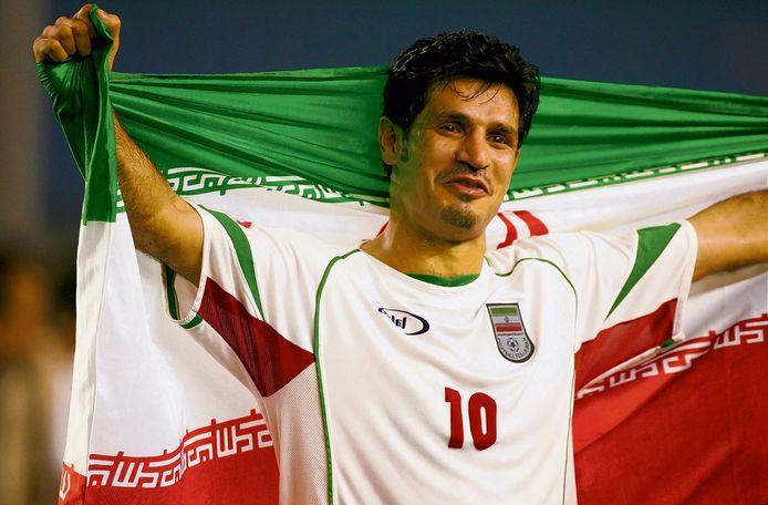 Ali Daei maakte 109 goals in 149 interlands voor Iran.