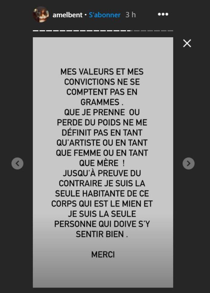 Instagram @amelbent