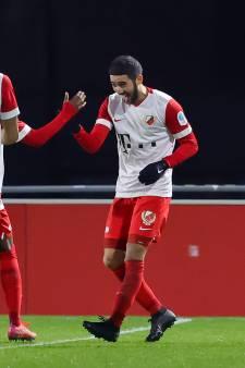 Jong FC Utrecht weet na zes nederlagen weer eens te winnen