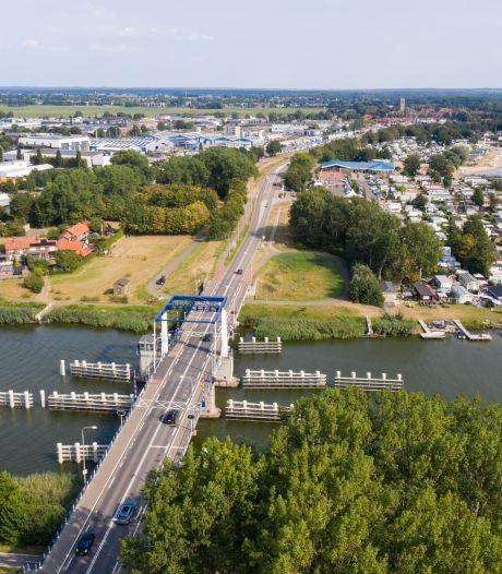 Beweegbare bruggen in Flevoland worden niet bediend vanwege harde wind