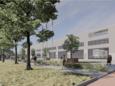 Zo gaat het nieuwe hoofdkantoor van Lamboo Medical eruitzien.