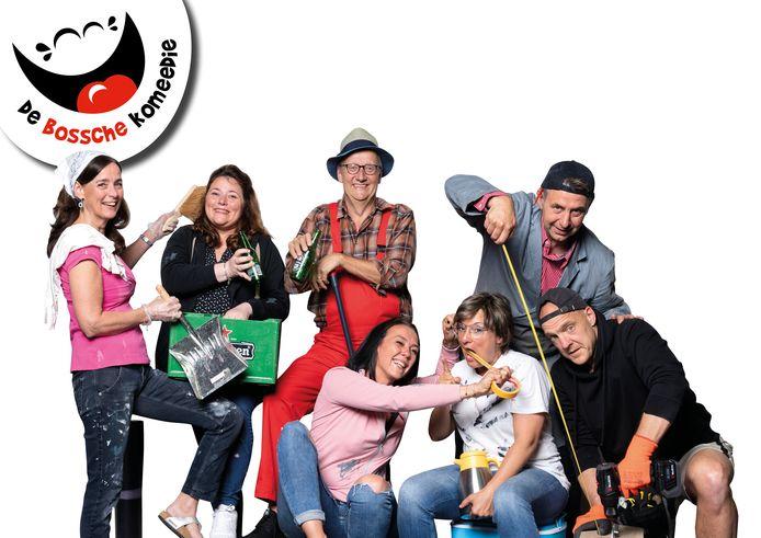 De cast van De Bossche Komeedie