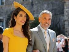 Invités au mariage des Sussex, Amal et George Clooney ne connaissaient pas Meghan et Harry