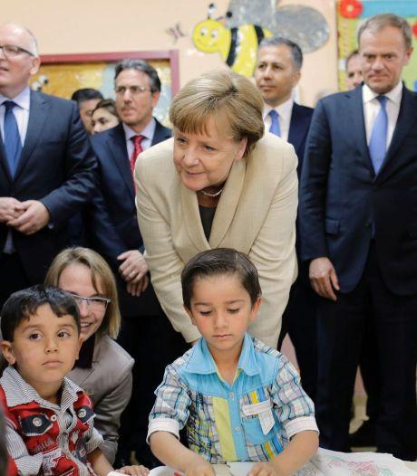 Merkel praat met Turkije over vrijheid van meningsuiting