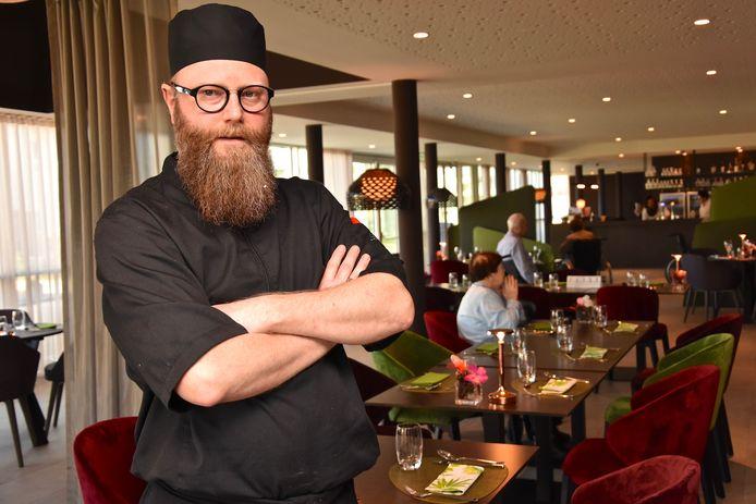 Kok Demsey Bossuyt in de brasserie van Triamant waar iedereen welkom is