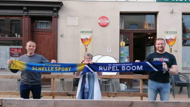 Gloednieuwe supportersclub Schuttershof juicht zowel voor Schelle Sport als voor Rupel Boom