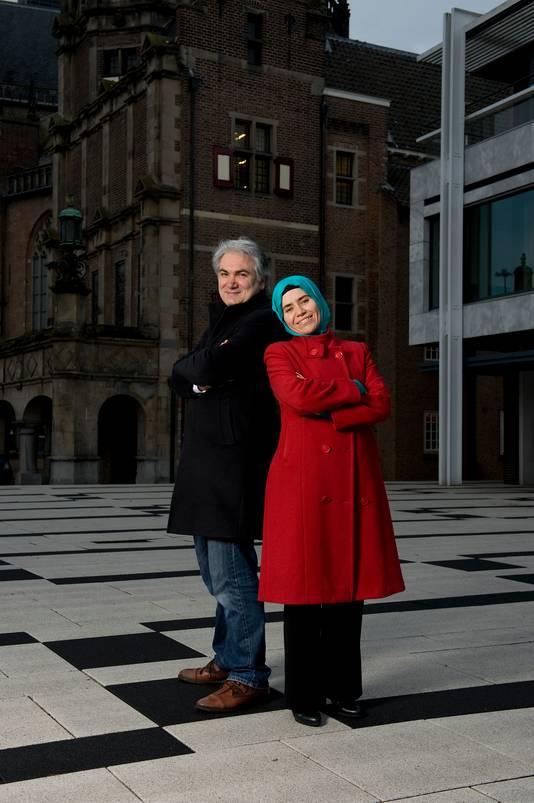 Kursat Bal met zijn vrouw Rabia Karaman.