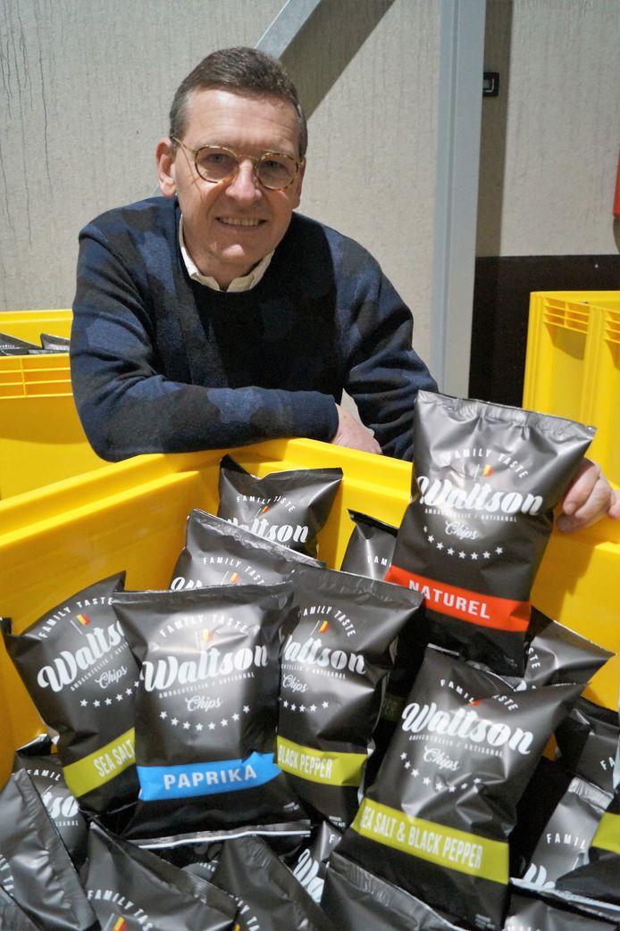 Joost Debeuckelaere realiseert met Waltson-chips een oude droom.