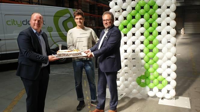 Antwerps duurzaam logistiek project vermijdt jaarlijks 3.000 bestelwagenritten