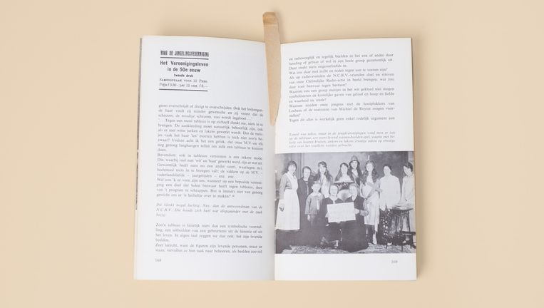 Het beeld der vad'ren, ex bibliotheca Jan Wolkers. Beeld Annabel Miedema