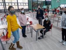 Leerlingen én docenten Scheldemond College Vlissingen blij met lessen in de klas