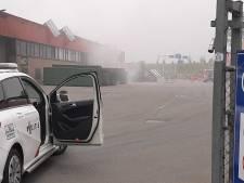 Brand in papierbedrijf Utrecht zorgt voor veel rook
