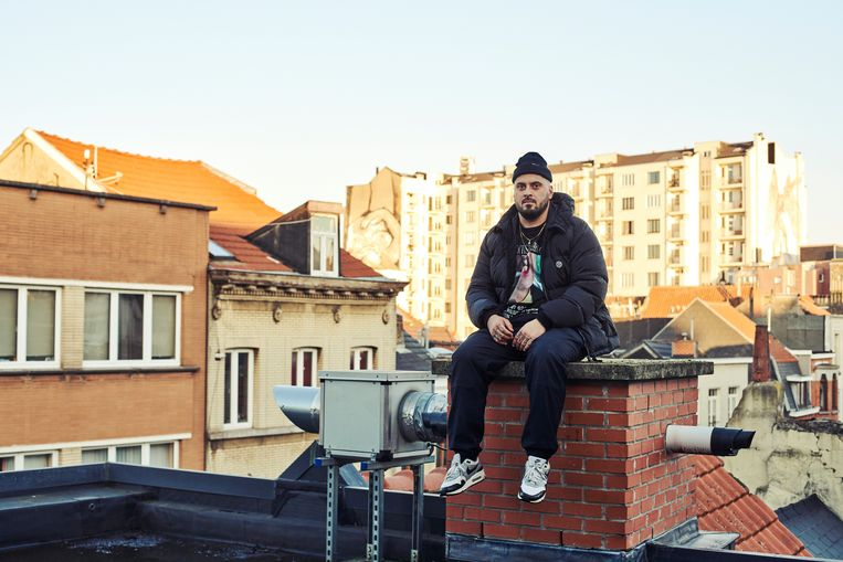 Zwangere Guy in zijn thuisstad Brussel. Beeld Thomas Nolf