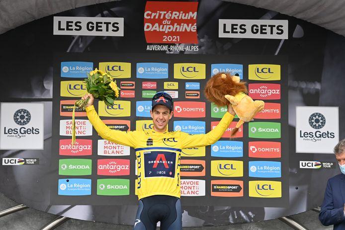 Richie Porte finit en jaune