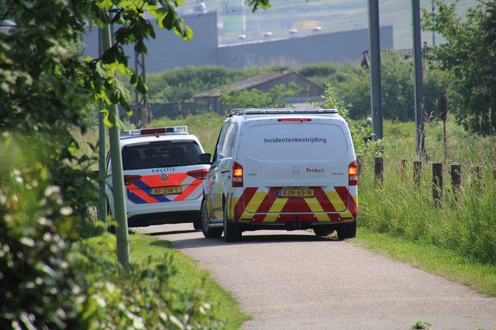 Er rijden vrijdag voorlopig geen treinen tussen Amersfoort en Apeldoorn vanwege een politieonderzoek.