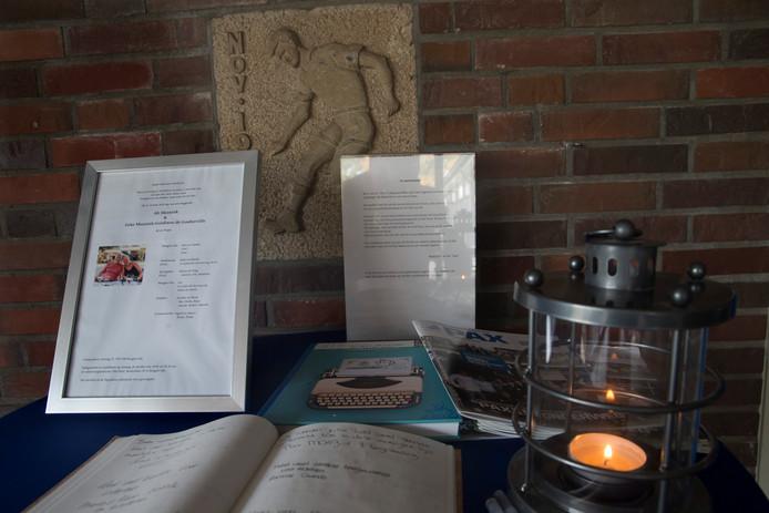 De herdenkplek voor Ab en Geke Meenink  in Hengelo