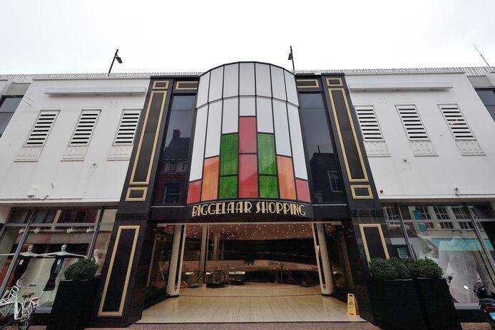 Winkelcentrum Biggelaar aan de Raadhuisstraat in Roosendaal. Foto Peter van Trijen