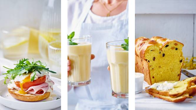 Eggs benedict op een bagel of zoet saffraan-rozijnenbrood: tover de klassieke paasbrunch om tot iets origineels