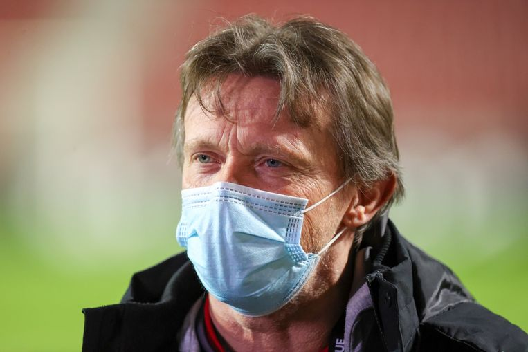 Frank Vercauteren. Beeld Photo News