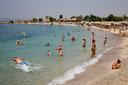 Alimos, dans le sud d'Athènes, ce 30 juillet.